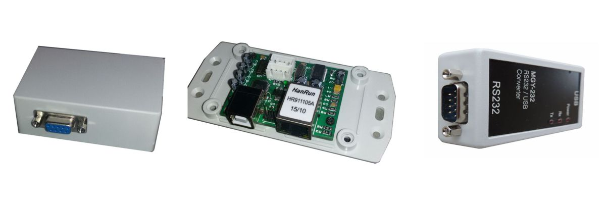 RS232 Ethernet Converters