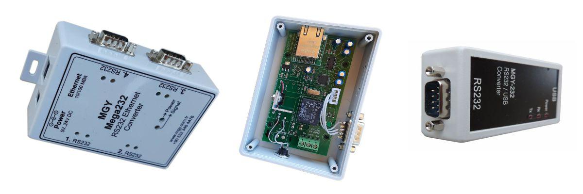 RS232 Ethernet Dönüştürücüler